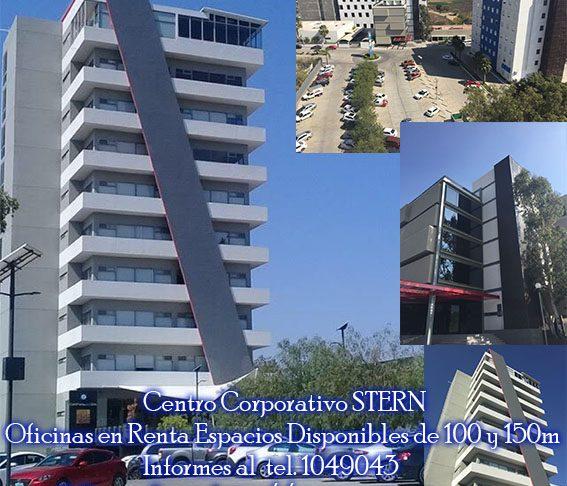 centro corporativo stern: oficinas en renta espacios disponibles de 100 y 150m informes al tel. 1049043 tw @CentroStern  http://www.centrostern.com