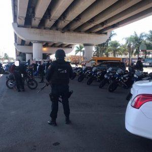FSPE intensifican operativos de patrullaje en la ciudad de Irapuato en apoyo a las autoridades locales en labores de seguridad.