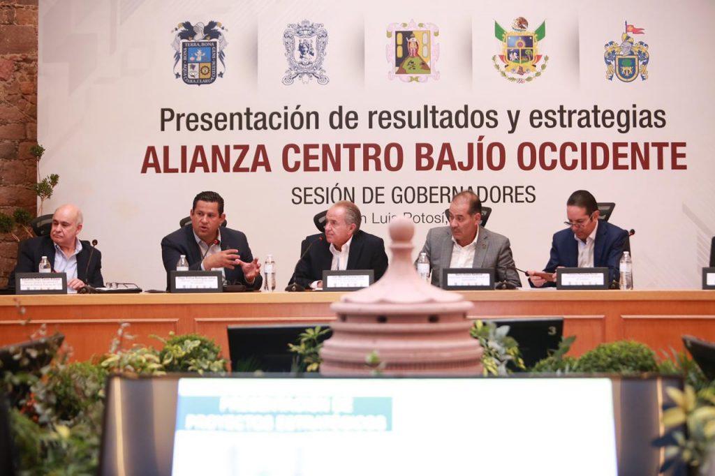 Designan al Gobernador de Guanajuato como Presidente de la Alianza Centro-Bajío-Occidente.
