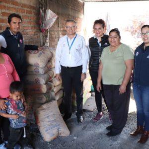 LLEVAN BENEFICIOS PARA HABITANTES DE COMUNIDADES