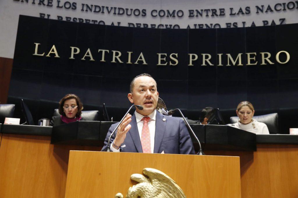 Propone senador Erandi Bermúdez incluir al acoso sexual en el Código Penal Federal