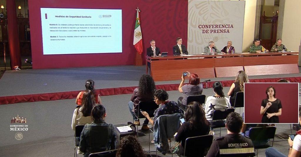 EMERGENCIA SANITARIA HASTA EL 30 ABRIL O MÁS EN MÉXICO