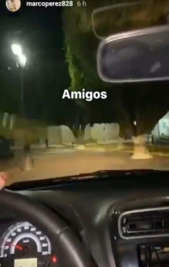SE SUBEN EN CAMIONETA AL JARDÍN DE PÉNJAMO Y SE BURLAN DE LA AUTORIDAD