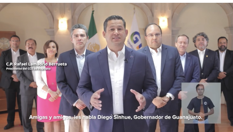ANUNCIA GOBERNADOR MEDIDAS ECONÓMICAS  PARA MITIGAR EFECTOS DEL COVID19