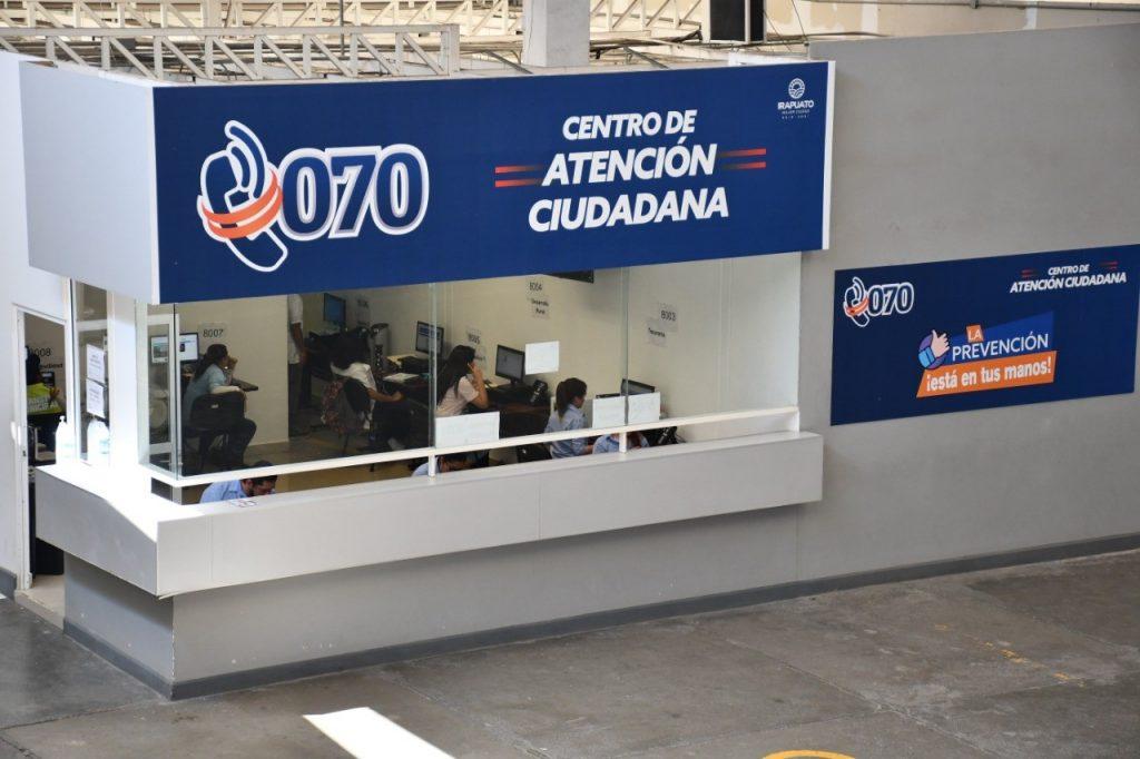RECURREN CIUDADANOS A CALL CENTER 070