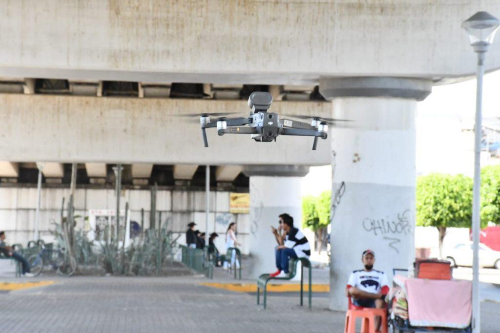 USARÁN DRONES EN CONTINGENCIA SANITARIA