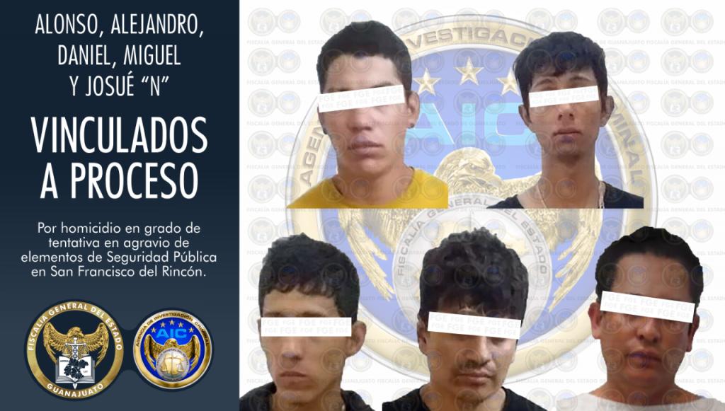 A LA CÁRCEL ATACANTES DE POLICÍAS  SFR Y PURÍSIMA