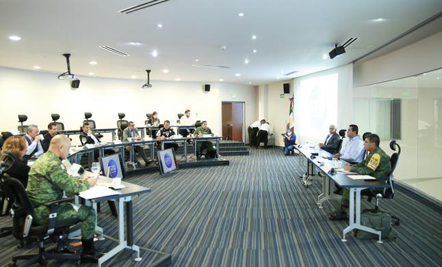 Comunicado Refuerzan coordinación en seguridad los tres niveles de gobierno