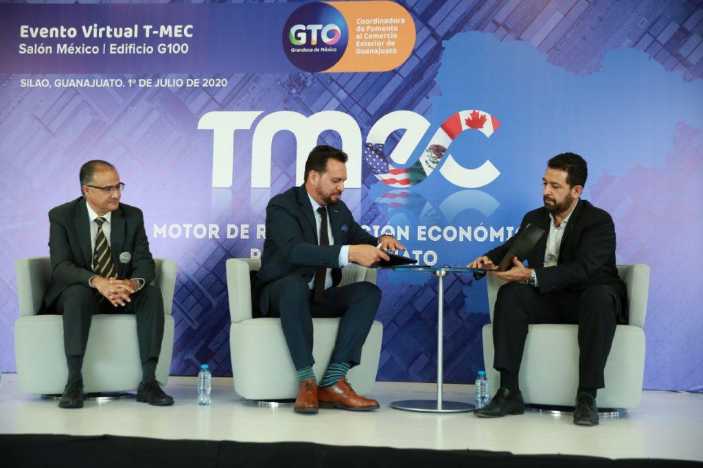 El T-MEC representa una gran oportunidad de crecimiento en las exportaciones de Guanajuato: Gobernador