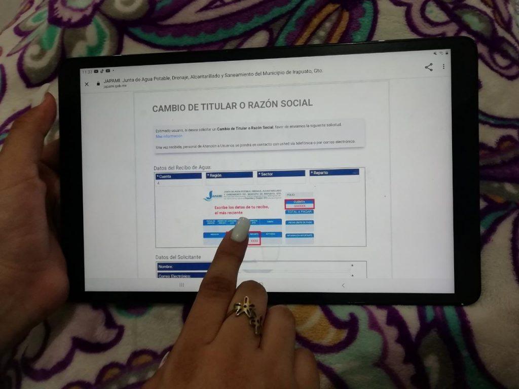 FACILITAN TRÁMITE PARA CAMBIO DE PROPIETARIO