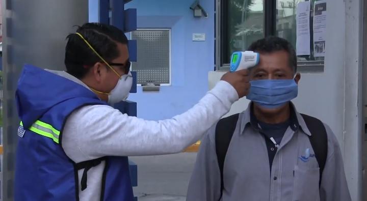 MANTIENEN PROTOCOLOS SANITARIOS PARA PROTECCIÓN DE PERSONAL