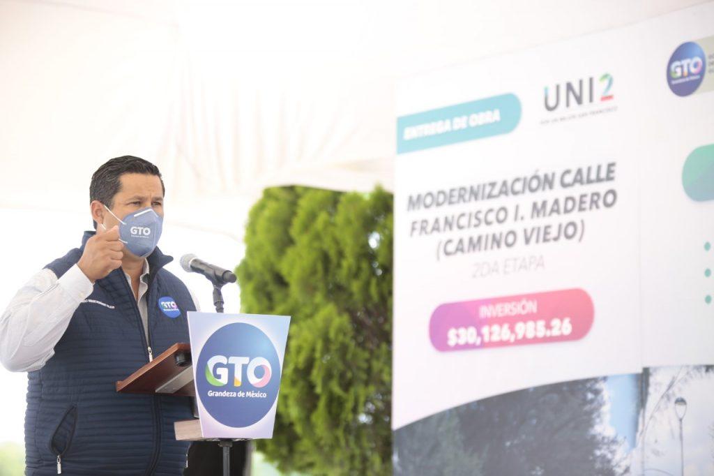 Entrega y arranca obras el Gobernador en los Pueblos del Rincón
