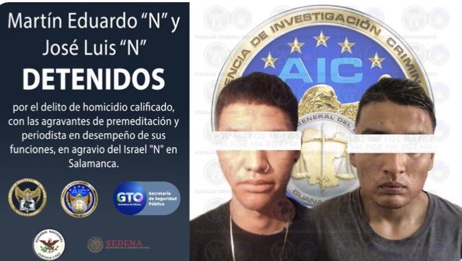 CAPTURAN A ASESINOS DE REPORTERO SALMANTINO