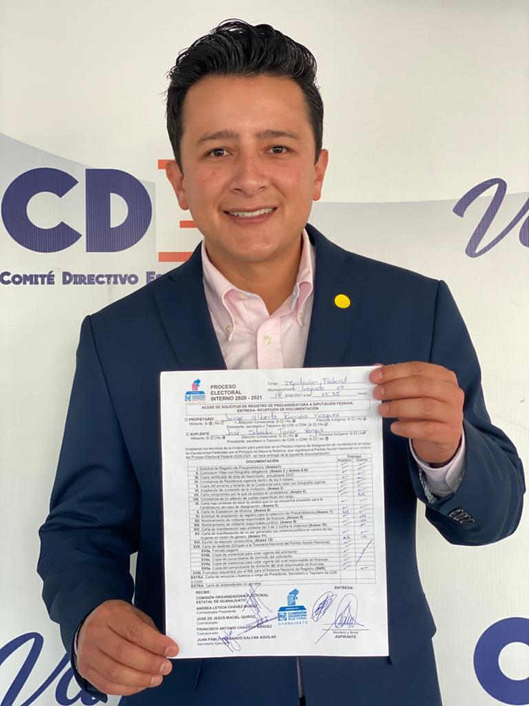 VA JORGE ROMERO PARA DIPUTACIÓN FEDERAL