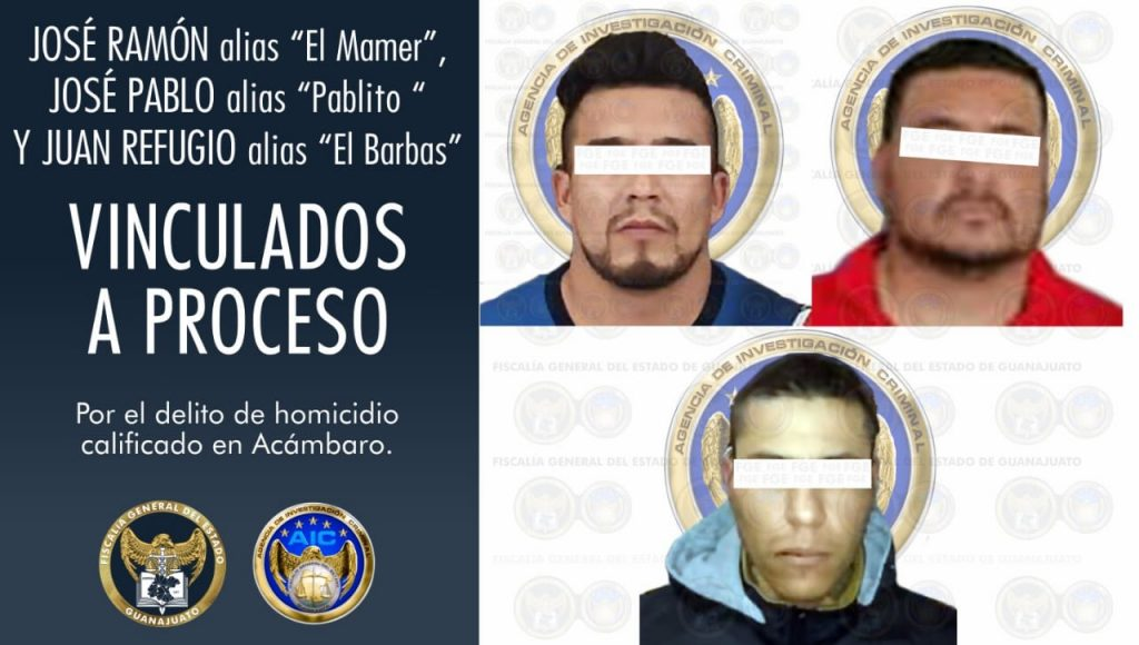 Jefe de plaza e integrantes del CSRL han sido vinculados a proceso penal por el delito de homicidio en agravio de un abogado en Acámbaro