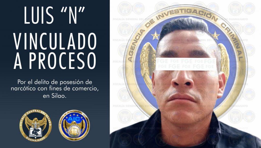 POLICÍA DE SILAO A PRISIÓN POR NARCOMENUDEO