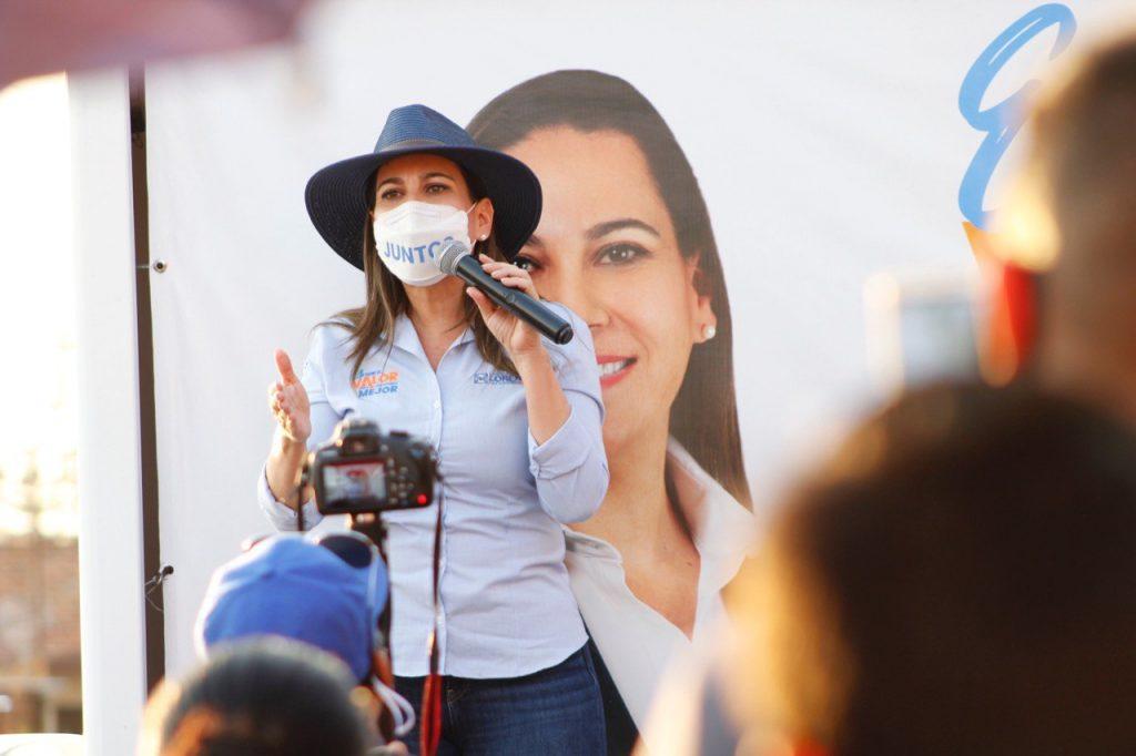 """""""HARÉ UN GOBIERNO SIN CORRUPCIÓN Y QUE RINDA CUENTAS"""", LORENA ALFARO"""