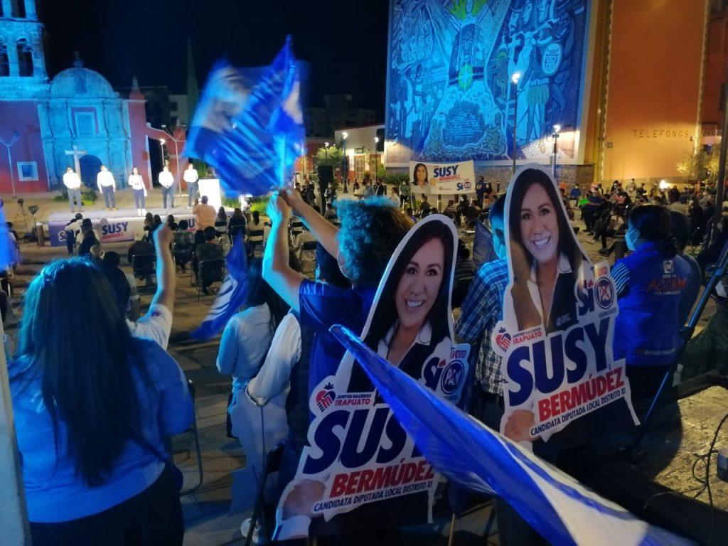 IMPULSAR A LOS JÓVENES, DEPORTISTAS, EMPRENDEDORES,  PRINCIPALES OBJETIVOS DE SUSANA BERMÚDEZ