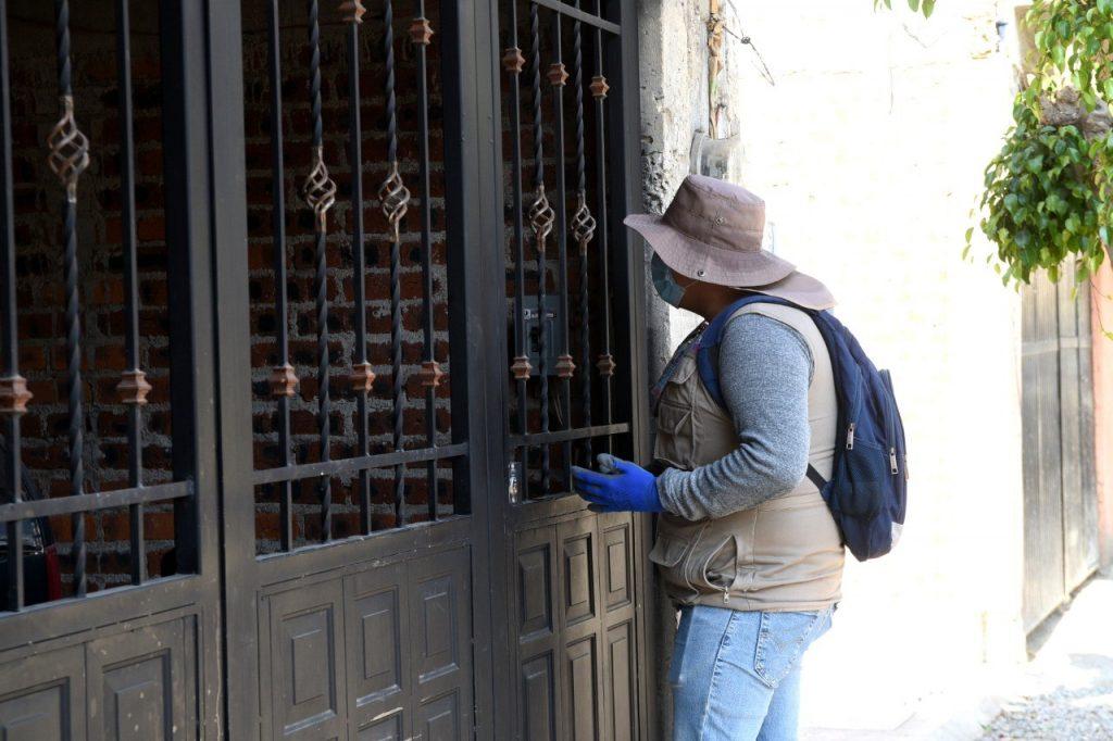 VISITAN CON CAMPAÑA CONTRA EL DENGUE COLONIAS Y COMUNIDADES RURALES