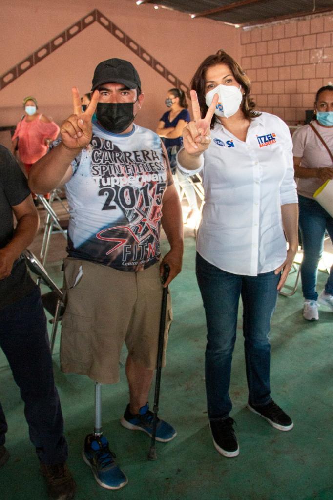 RESPALDA LA ZONA RURAL A ITZEL BALDERAS