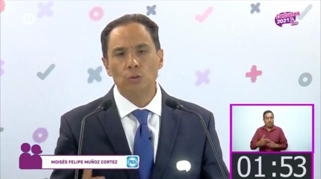 Experiencia, compromiso y propuestas coherentes fue como el candidato Moy Cortéz ganó ante sus contendientes en el debate organizado por el IEEG