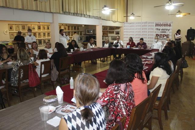 Crearemos un Instituto para atender la problemática social, laboral y familiar de las madres solteras, anunció Pepe Aguirre