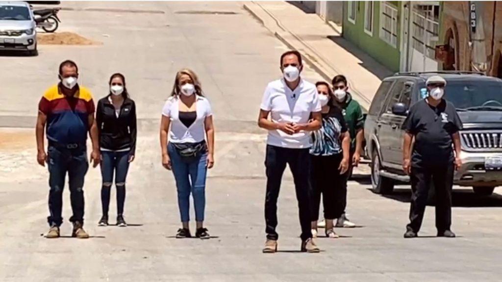 Va Moy por el fortalecimiento de la Seguridad en Cuerámaro