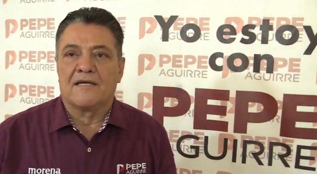AVANZA EL RECURSO DE IMPUGNACIÓN DE MORENA: PEPE AGUIRRE