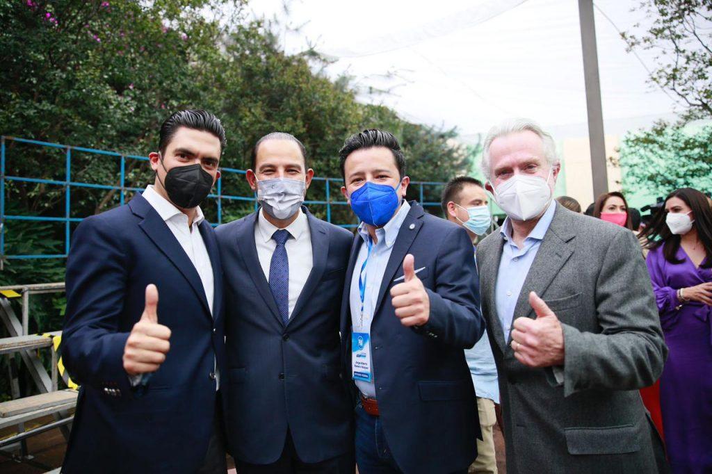 SE REUNE JORGE ROMERO CON MARKO CORTÉS Y GRUPO PARLAMENTARIO DE LA LXV LEGISLATURA