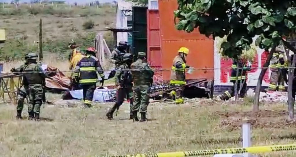 EXPLOTA POLVORÍN; HAY UN MUERTO EN IRAPUATO