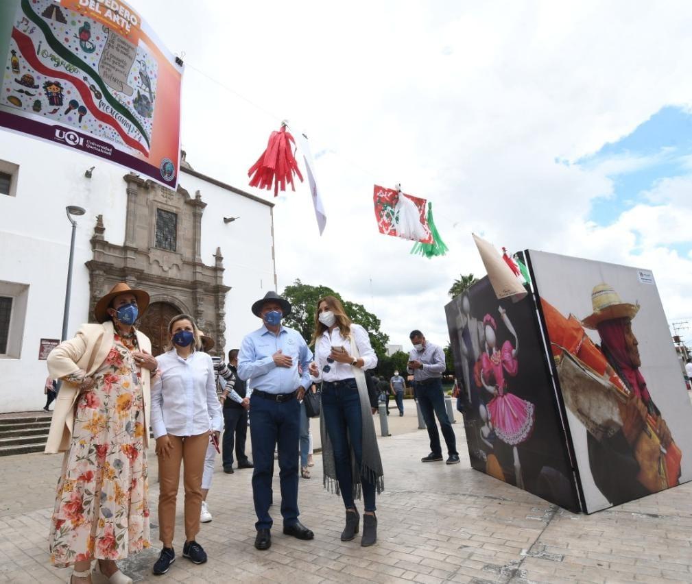Inauguran Exposiciones Culturales en Centro Histórico