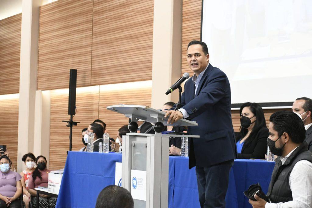 SE REGISTRA PLANILLA DE EDUARDO LÓPEZ MARES Y ROSARIO CORONA PARA LA DIRIGENCIA DEL PAN