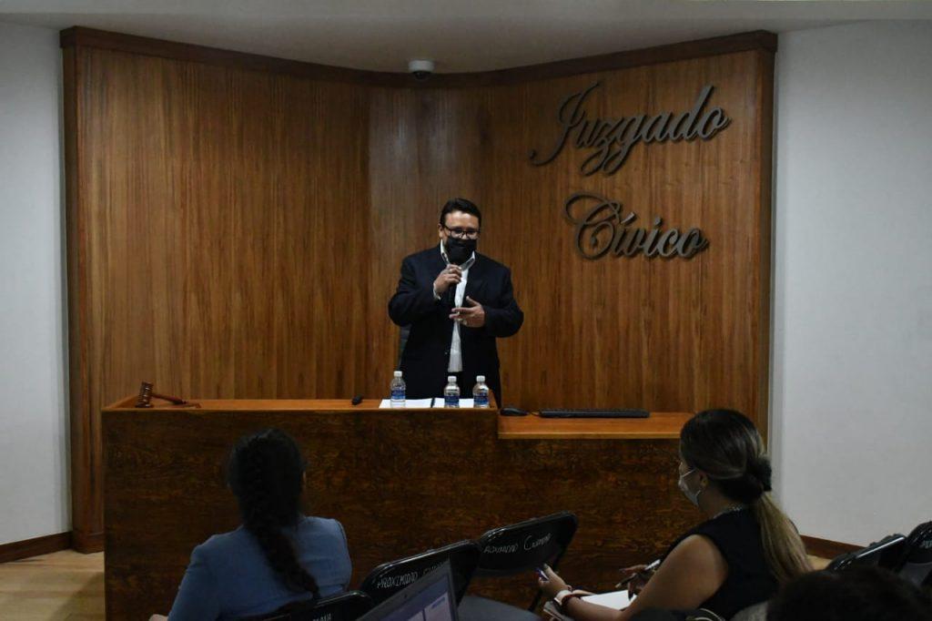 CAPACITAN JUECES CÍVICOS A PERSONAL DE LA SECRETARÍA DE SEGURIDAD CIUDADANA