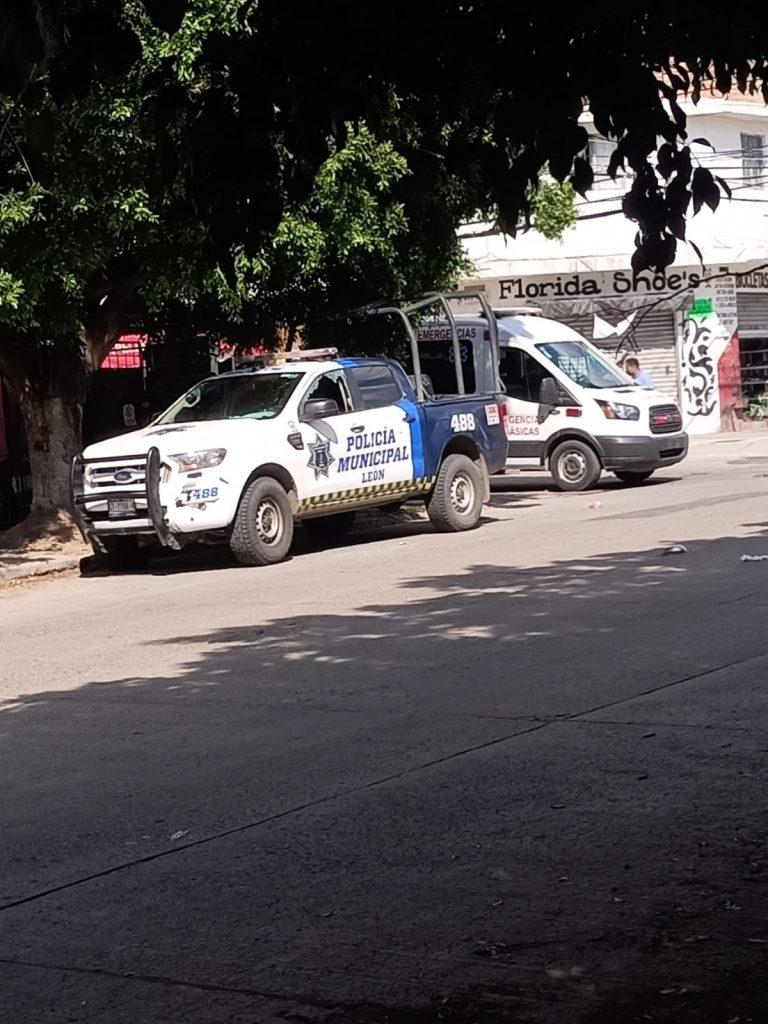 REPORTAN ATAQUE A POLICÍAS DE LEÓN